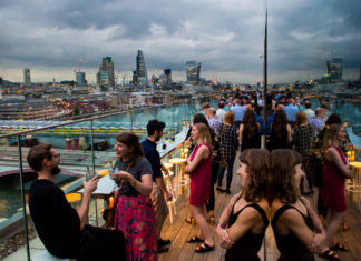 Top 5 Riverside Bars in London